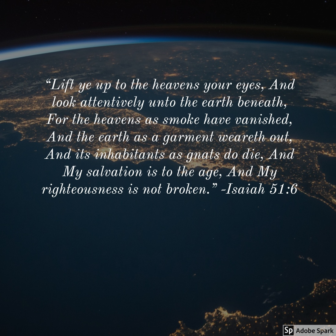 Isaiah 51.6